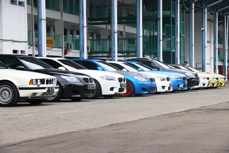 M Owner Club Indonesia at Sentul Circuit