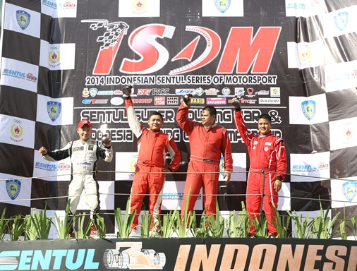 Jimmy Lukita #04 Podium